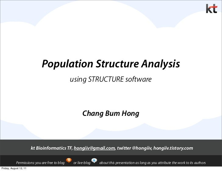Population Structure Analysis                                                using STRUCTURE software                     ...