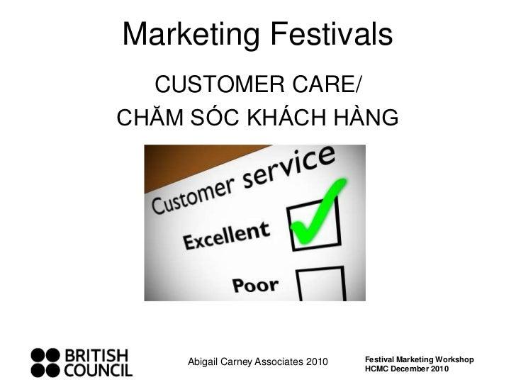 Workshop 3 13 fei customer care cham soc khach hang