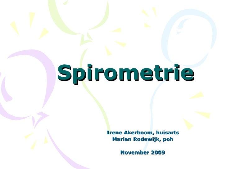 Workshop 3 Tips En Trucs Spirometrie