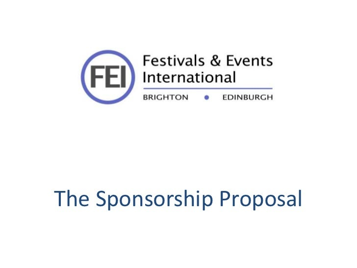 Workshop 4 6 fei sponsor proposal