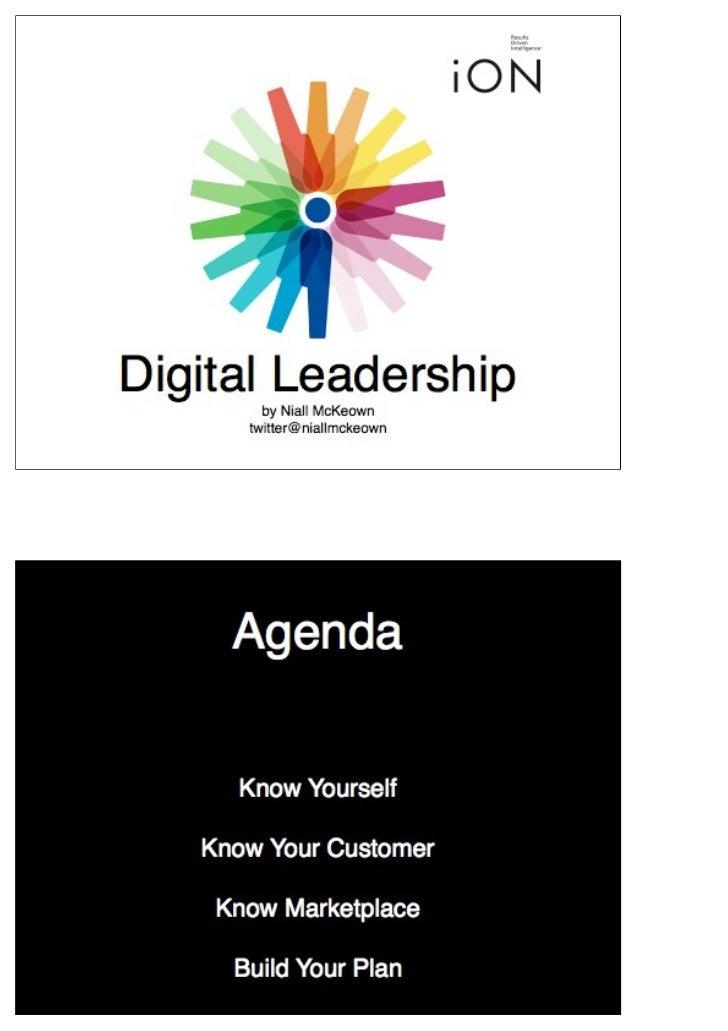 Workshop 4 digital strategy part 1