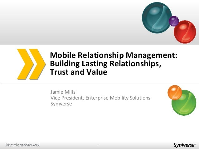 MRM: Building Lasting Relationships, Trust and Value