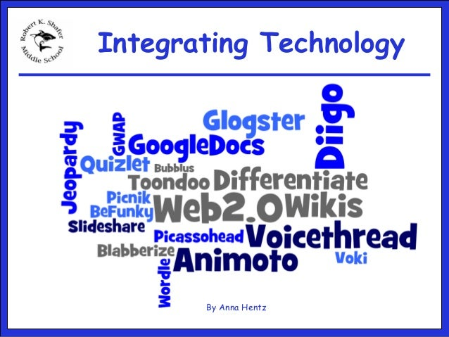 Integrating Technology By Anna Hentz
