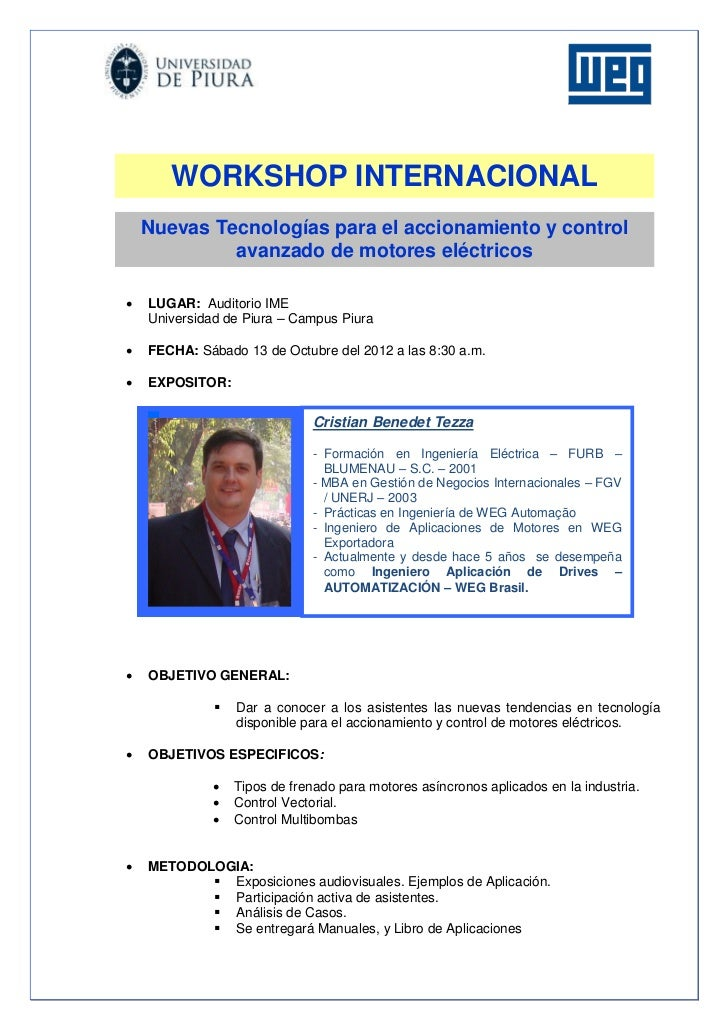 Workshop automatizacion   piura