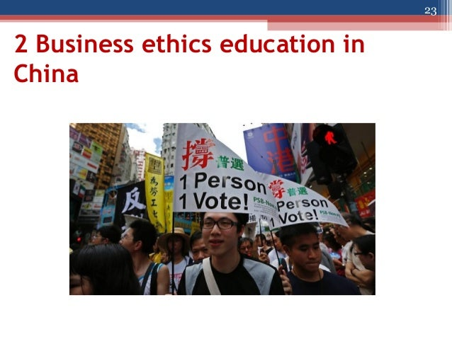china business ethics There are great business opportunities in china, but navigating the complexities  of chinese politics and culture can be a challenge for.