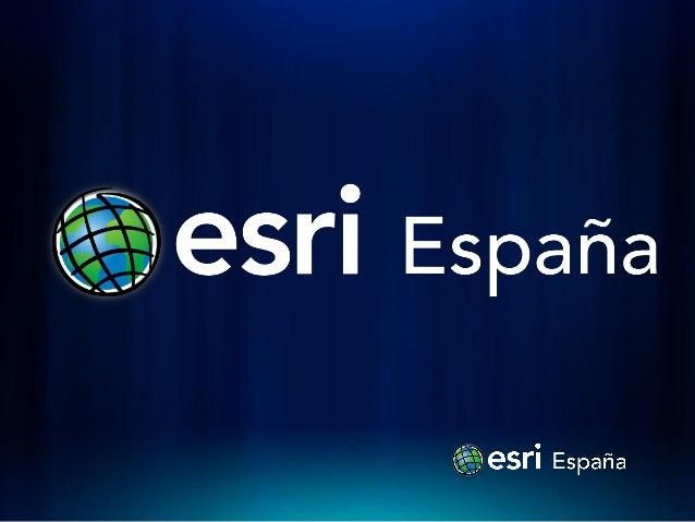 Seminario imagenes CESAEROB                         esri España                        Isaac Medel                 isaac.m...