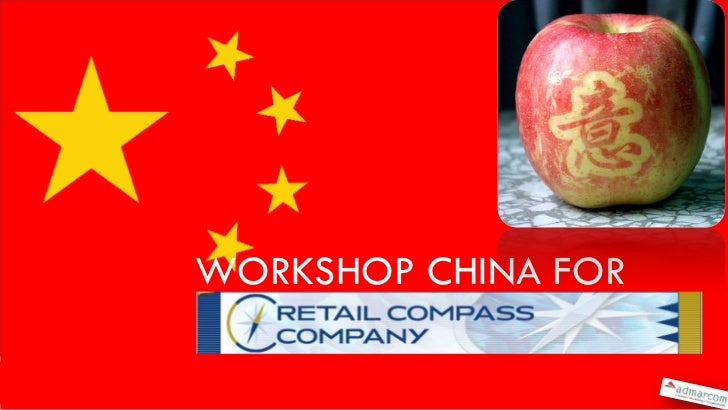 Workshop china Retail Compass mei 2011