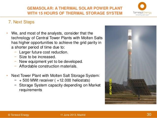 Gemasolar A Thermal Solar Power Plant With 15 Hours on Solar System7