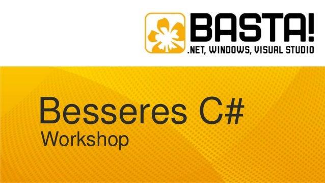 Besseres C# Workshop