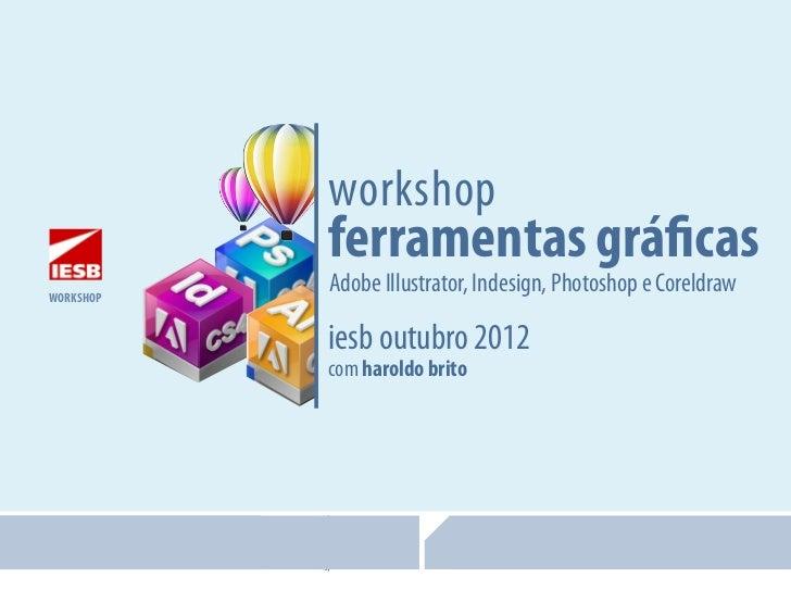 workshop                                              ferramentas gráficas         workshop                               ...