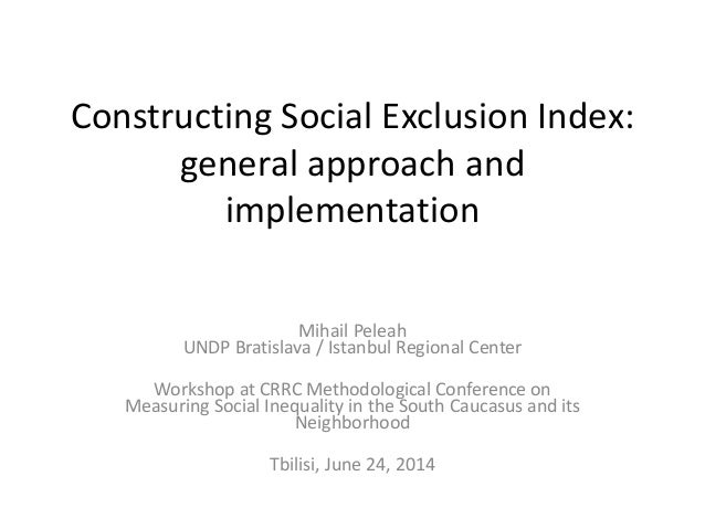 "what is social exclusion why is Social exclusion: a concept in need of definition robin peace1 knowledge management group ministry of social policy abstract ""social exclusion"" is a contested term."