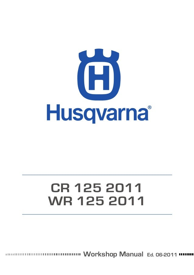 Husqvarna Workshop Cr Wr