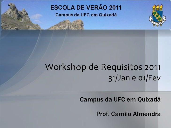 Workshop de Requisitos