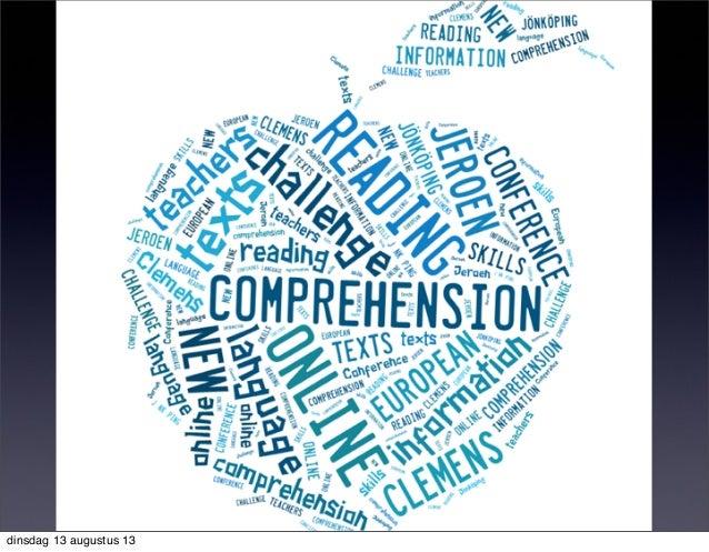 Online Reading Comprehension: New Challenge for (Language) Teachers