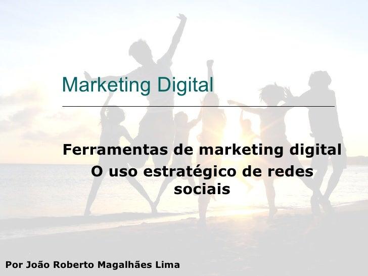 Work Shop Ferramentas De Marketing Digital Redes Sociais