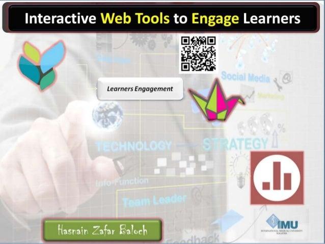 Flipped Classroom Engagement Web Tools