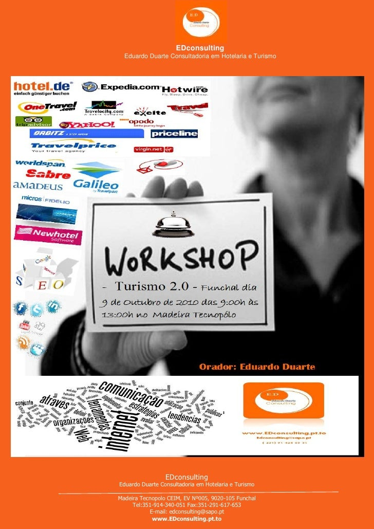 EDconsulting Workshop Turismo 2.0 no Funchal