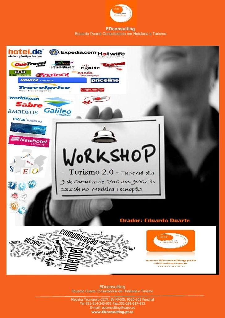 Workshop Funchal Turismo 2.0