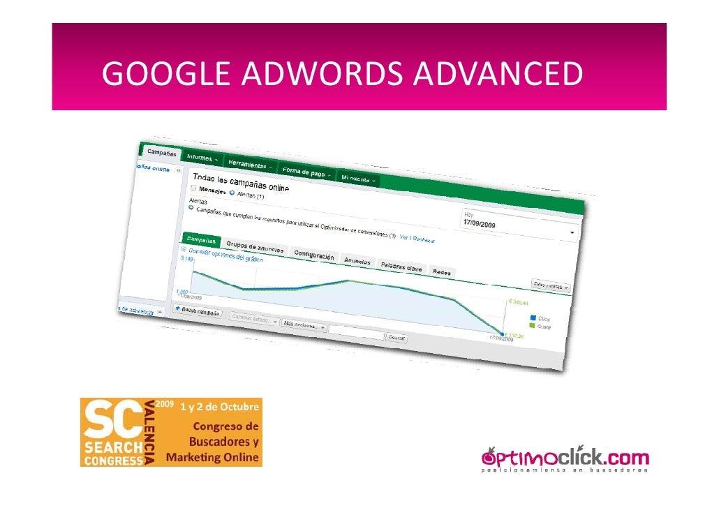 Google Adwords Advanced