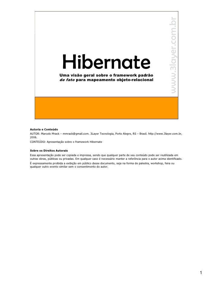 Workshop Hibernate Com Comentarios