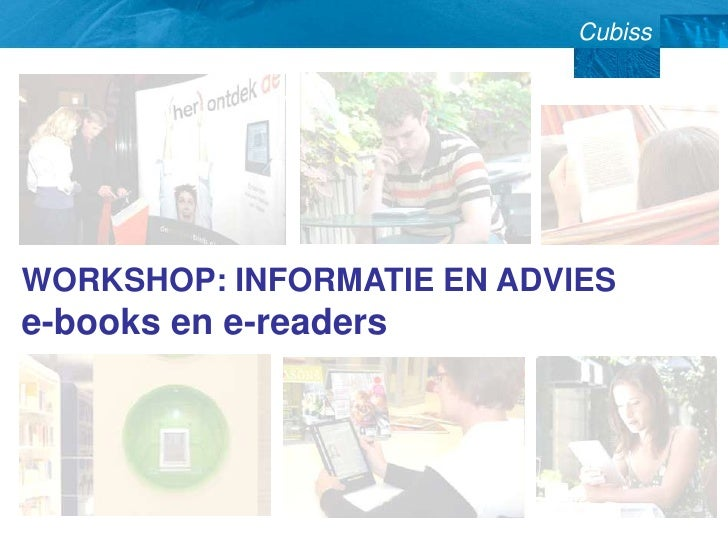 Workshop informatie en-advies-e-books