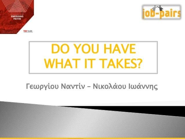 TEDxAUEB & Job-Pairs Workshop
