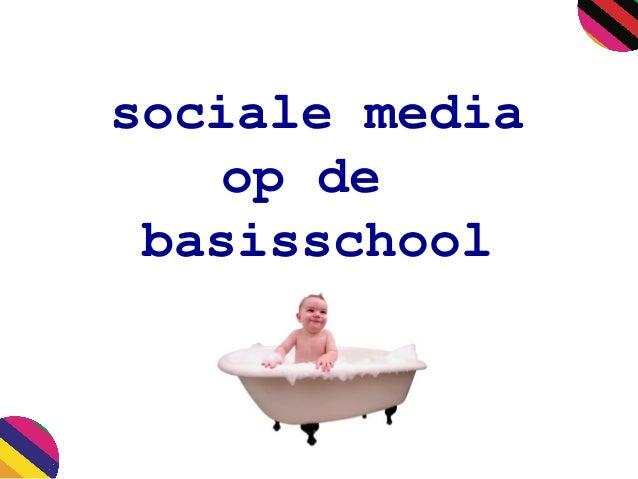 sociale media op de basisschool