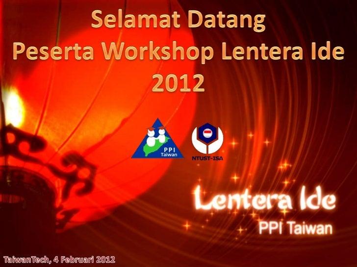 Workshop LI 2012
