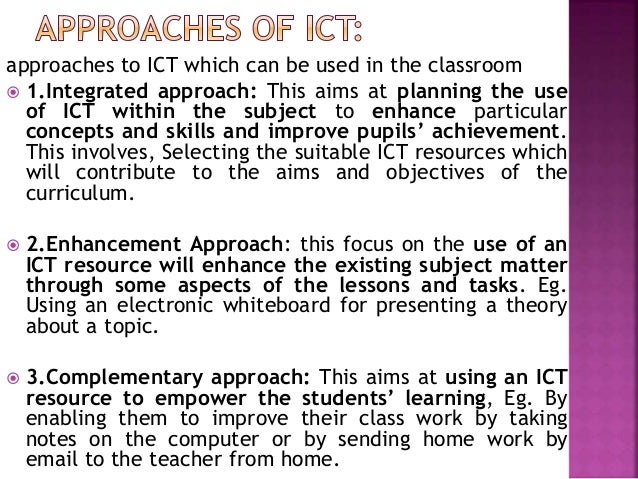How would an ICT teacher use their E-mail in school?