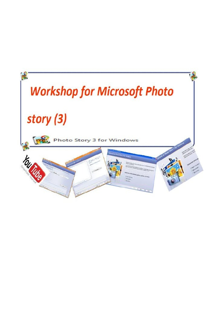 Overview of online workshop for Microso of Photo Story (3):Terminal objectives of Online Workshop: