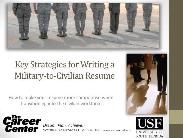 key strategies for writing a military