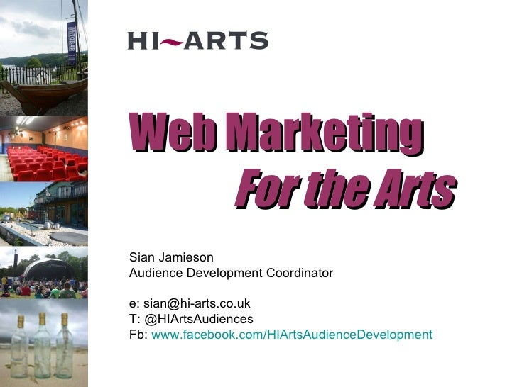 Web Marketing for the Arts 2010