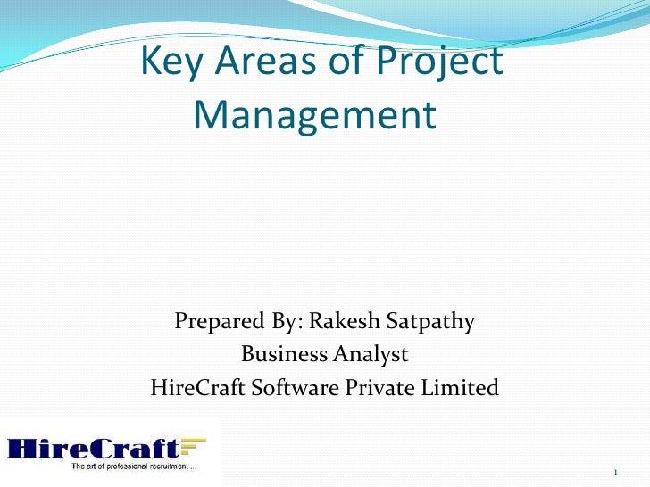 Work shop project management