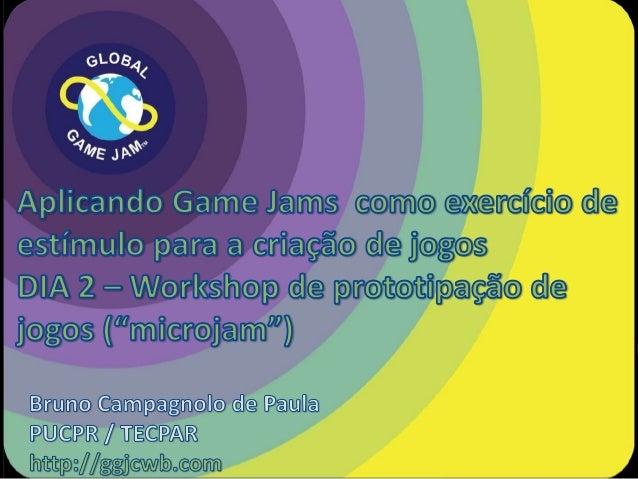 """Workshop de prototipação de jogos (""""microjam"""") - FAUUSP"""
