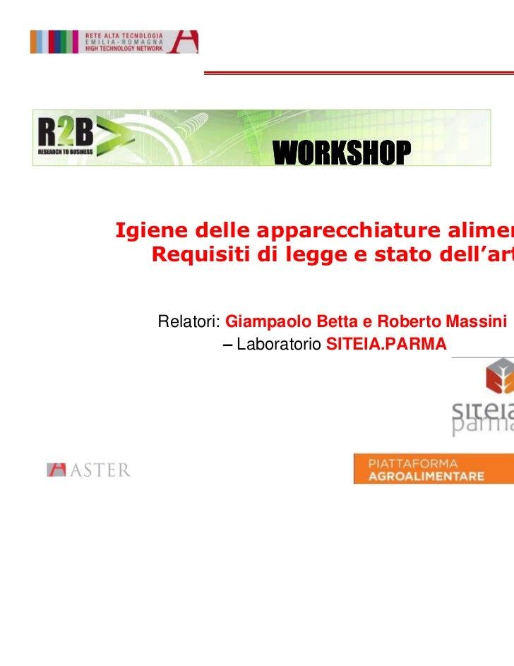 Workshop r2 b  siteia.parma