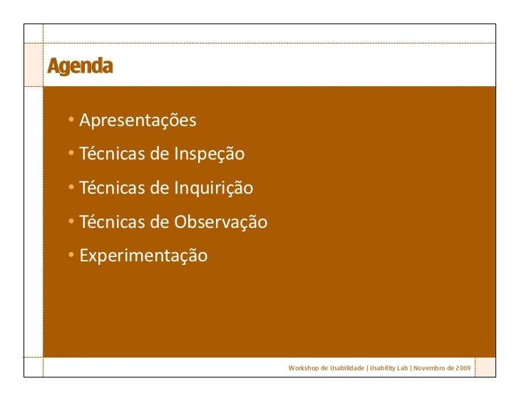 Workshop Robson Santos Ix Da2009