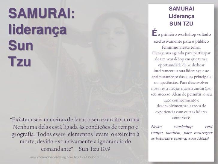 SAMURAISAMURAI:                                                            Liderança                                      ...