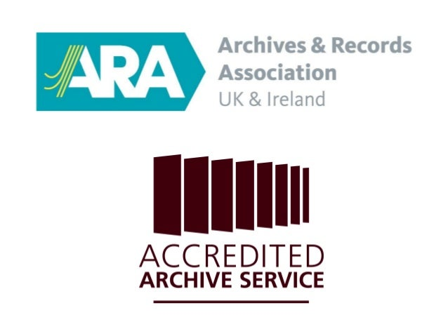 Archive Service Accreditation workshops - introduction