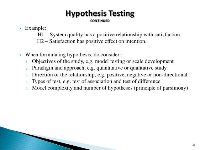 hypothesis example for research paper Formulate the proposal questions and hypothesis- every research paper or thesis begins with formulating relevant questions and identifying a workable hypothesis since this can be confusing for a student, expert thesis writers can help you choose the best questions for your proposal.