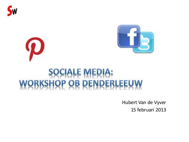 Meer afweten over sociale media zonder te veel inspanning?