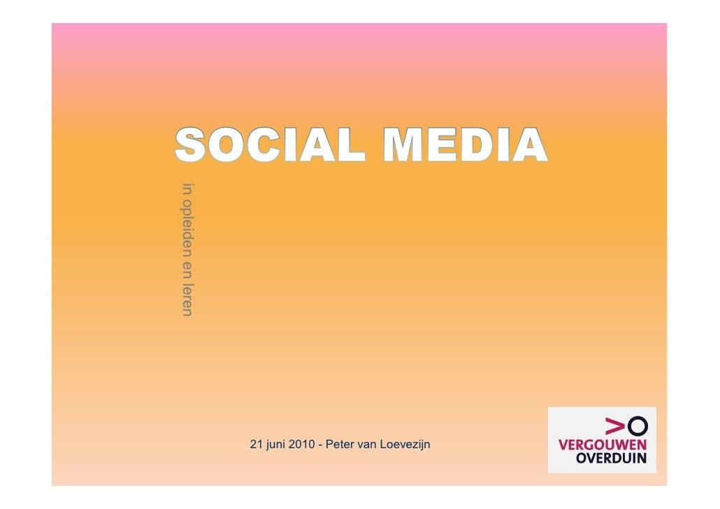 Workshop social media en leren voor boxmeergroep