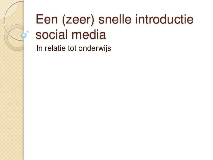 Workshop social media windesheim