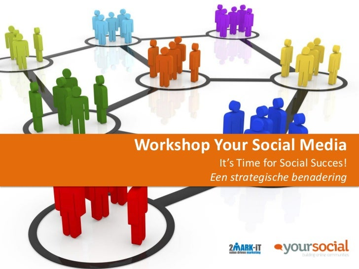 Workshop Your Social Media           It's Time for Social Succes!         Een strategische benadering