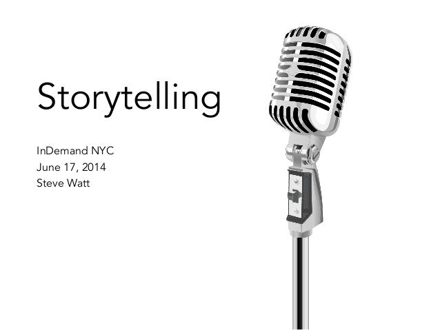 Storytelling for Talent Brand | InDemand 2014