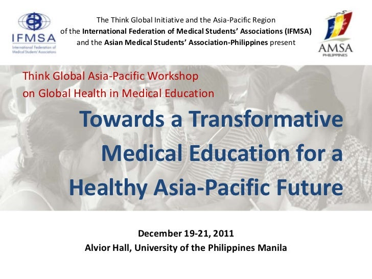 Think Global Workshop Summary