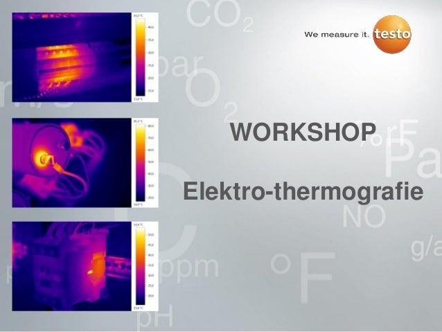 WORKSHOPElektro-thermografie