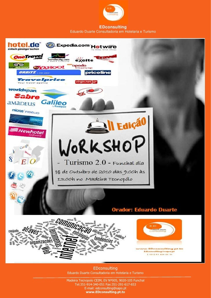 Workshop Turismo 2.0 Ii EdiçãO Funchal