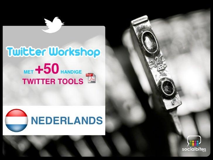 workshop                   twitter                  training                  how to                   manualMET+50   HAND...