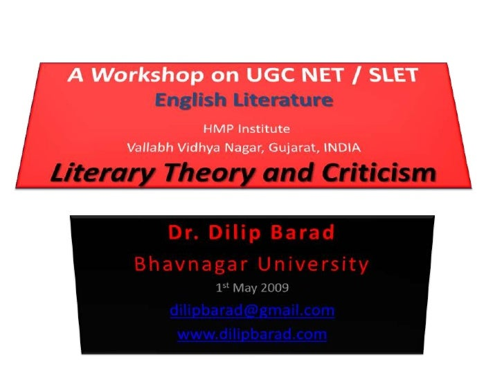 We shall discuss… • Paper II: OT Qs from Literary Theory • Paper III: Section A: • Unit IX: Literary Theory and Criticism ...