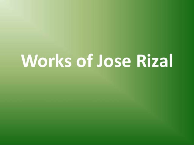 rizal works Rizal's life, works, and writings by diosdado g capino, 1977, jmc press edition, in english.